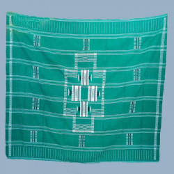 Nappe 12-couverts-vert